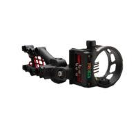 Carbon Hyb Micro 5 Pin .019 Sight w/Light Black